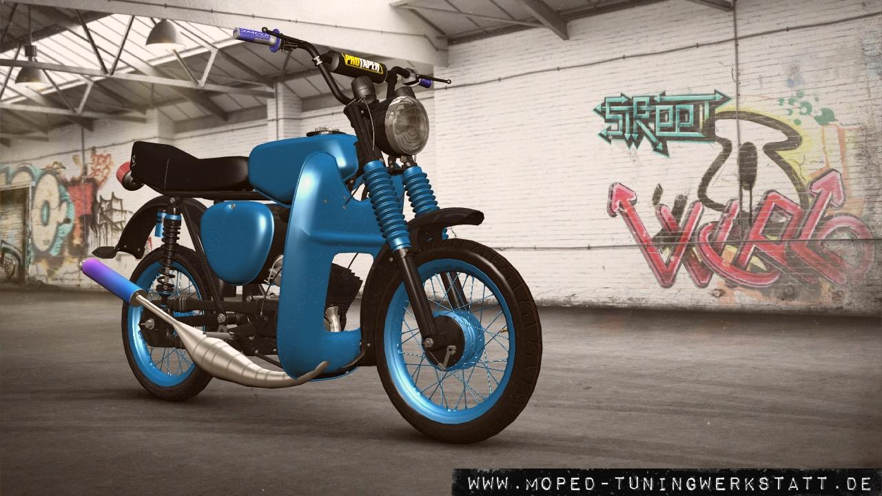 S51 N Blau