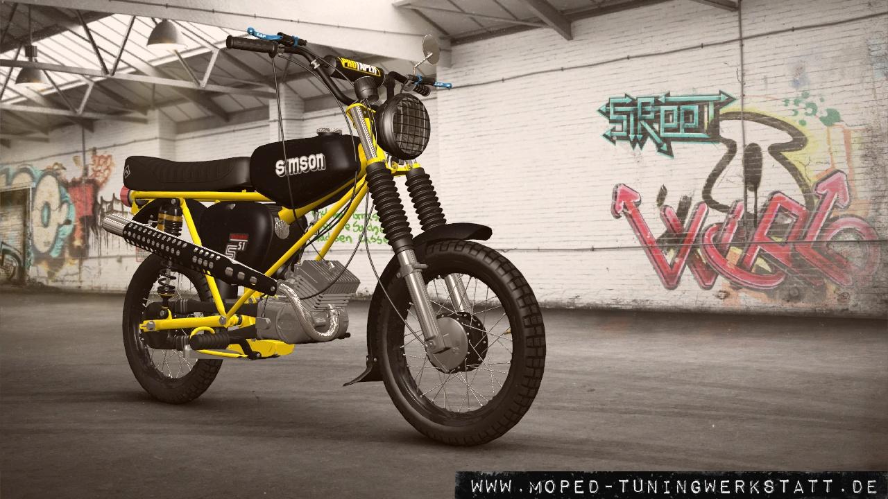 straßen moped enduro