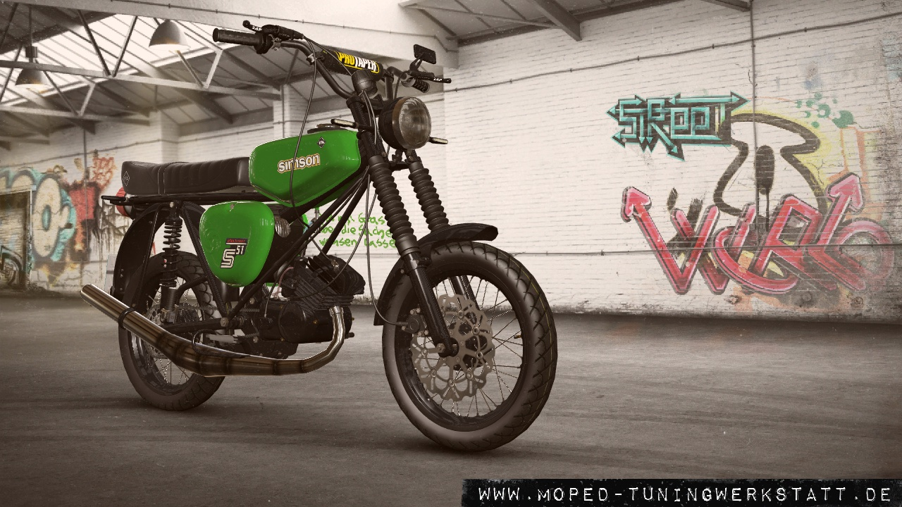 S51 grünes Monster