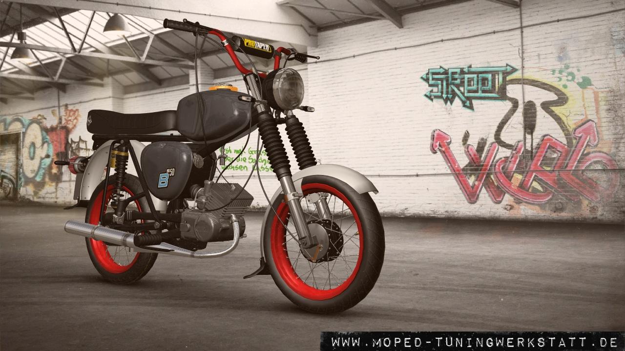 S50 Winteraufbau