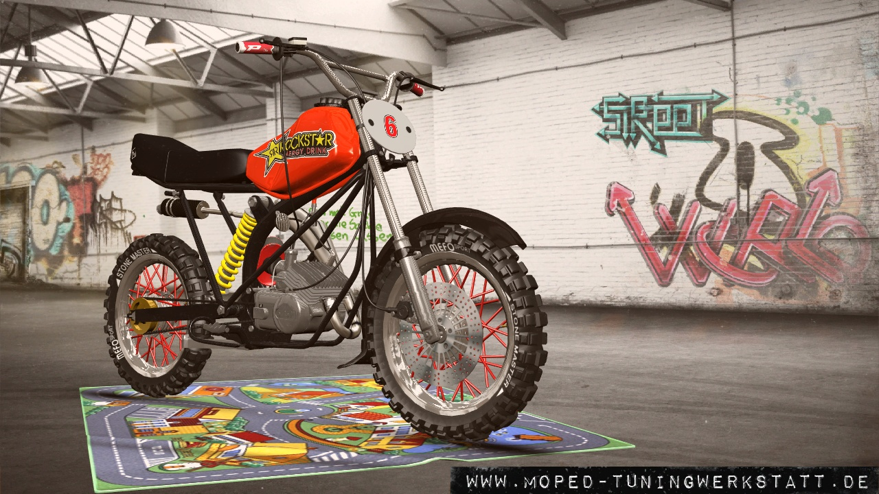 S51 80cc Cross Zeys