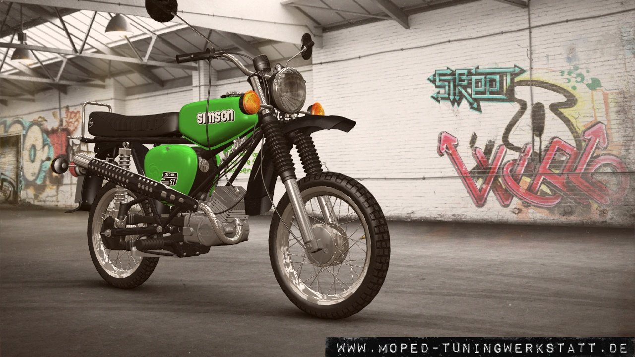 Simson S51E