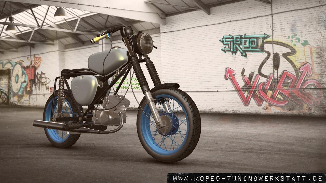 S50 Cafe Racer